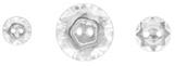 Vintage Faceted Designer Buttons